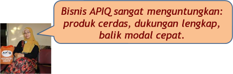 Bisnis APIQ menguntungkan