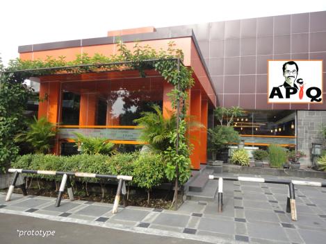 prototype bangunan APIQ