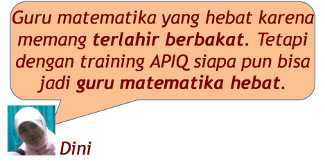 Training Dini Hebat Math