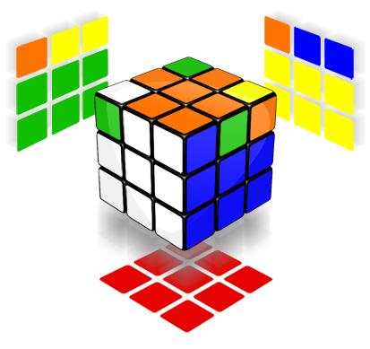 Solusi Rubik Sang Merah Putih 3x3x2
