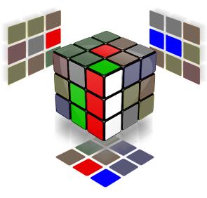 Rubik Sang Merah Putih