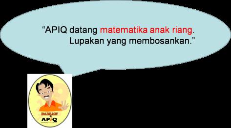 APIQ riang matematika