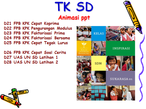 TK SD 2 Animasi