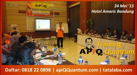 Training APiQ 24 Mei
