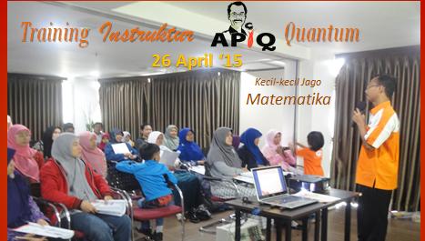 Training APiQ 26 April