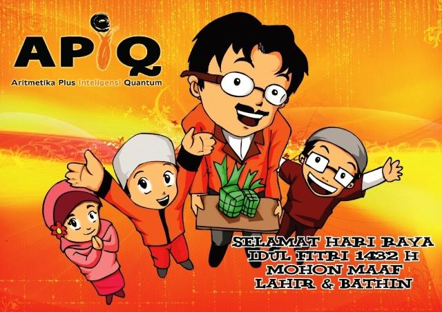 APIQ mengucapkan selamat Idul Fitri Maaf Lahir Batin