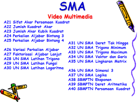 SMA 2 Video Multimedia