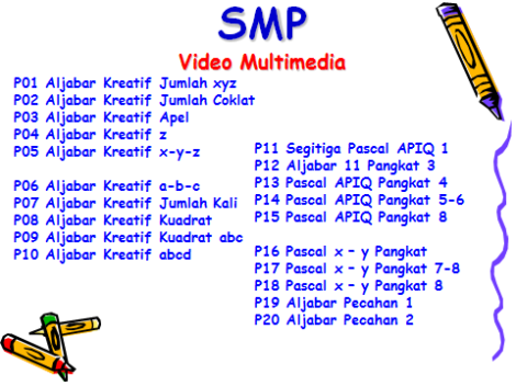 SMP Video Multimedia