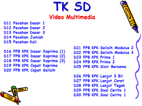 TK SD Video 2 Multimedia