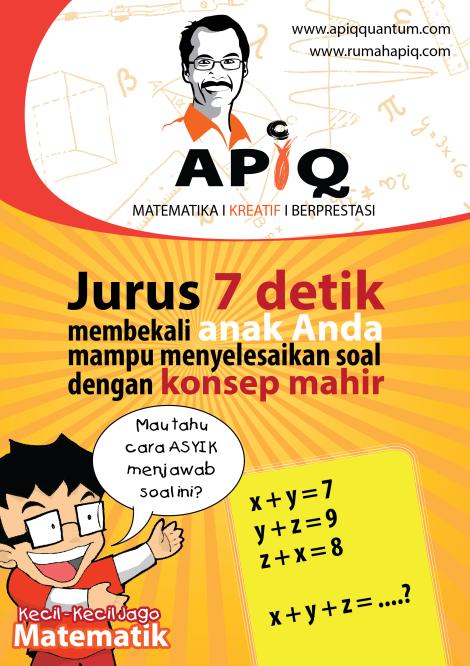 Belajar matematika mudah dan cepat