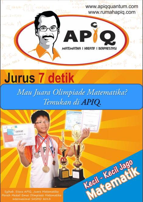 APIQ Juara Olimpiade Math