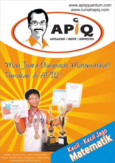 Juara Olimpiade Matematika