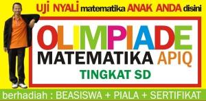 Olimpiade Math APIQ Berhadiah