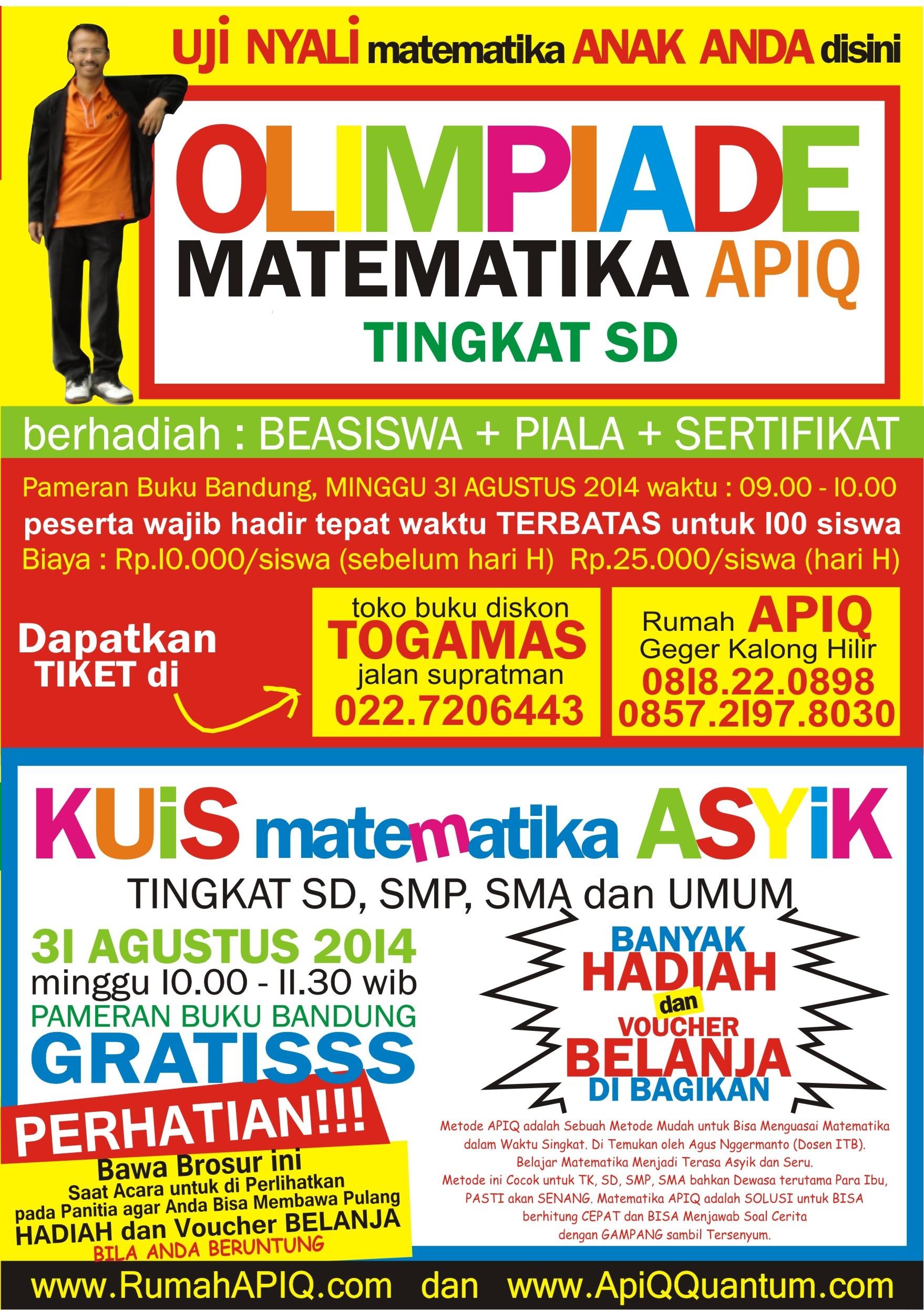 Olimpiade Math APIQ