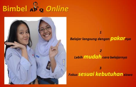 Bimbel APiQ 1 Online