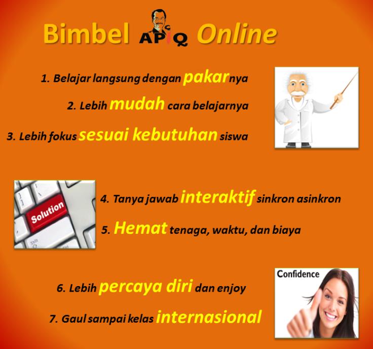 7 Bimbel online orange