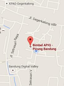 Bimbel APiQ Picung 3 Map