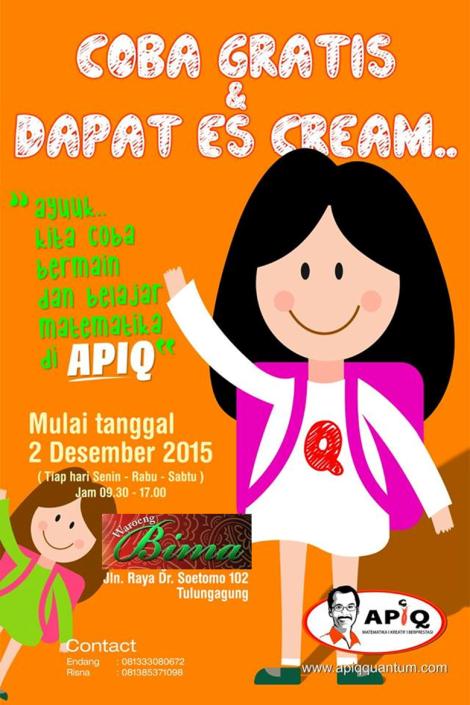 APIQ 2 Coba Gratis Tulungagung