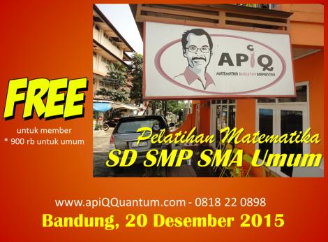 APiQ Pelatihan Bandung